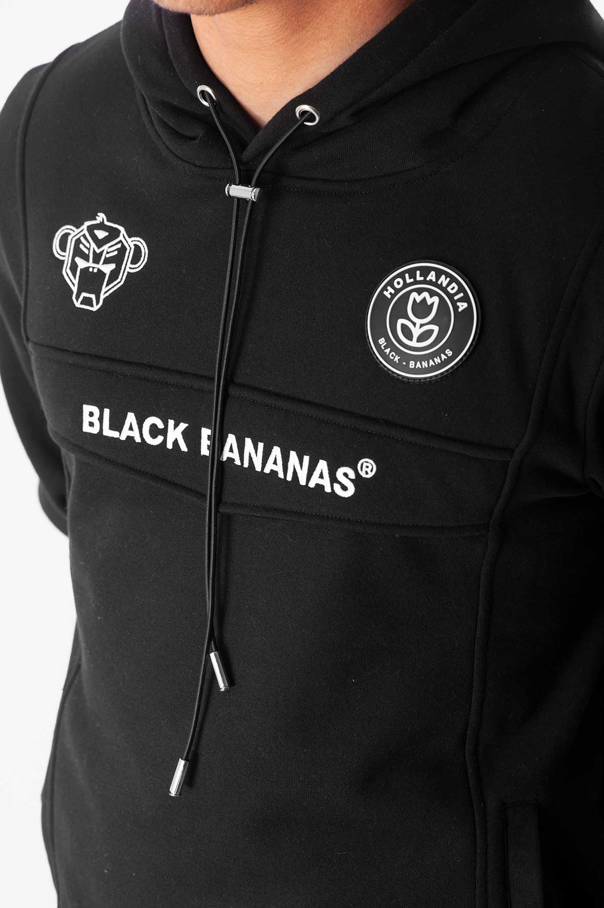 Black Bananas Anorak Hoody Black