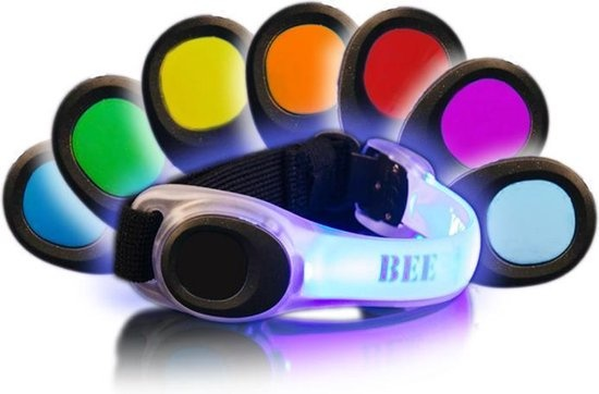 BEE SPORTS BEE SEEN Led Safety Band Multicolour