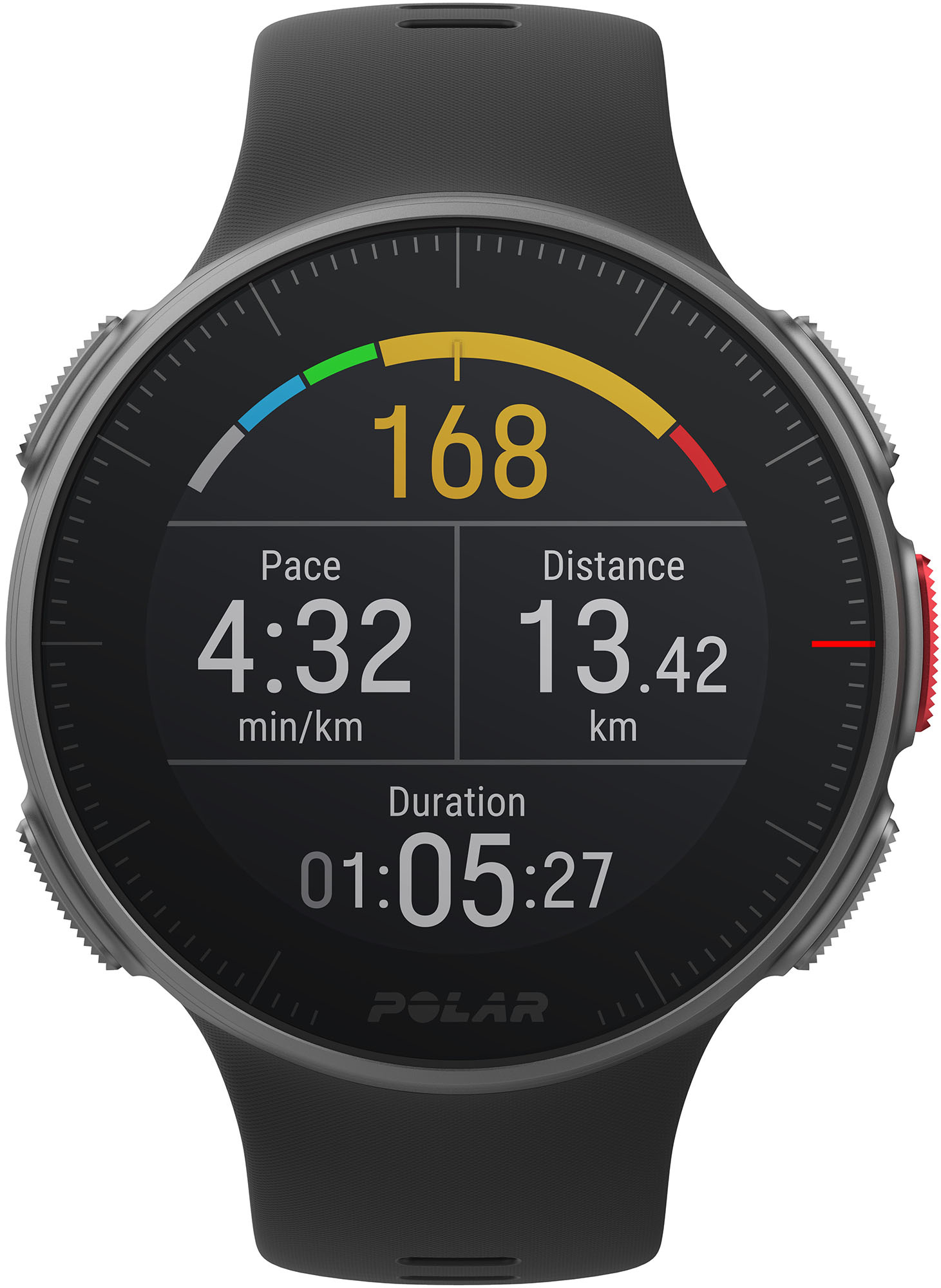 POLAR VANTAGE V HOOGWAARDIG GPS-MULTISPORTHORLOGE VOOR MULTISPORT- EN TRIATLONTRAINING