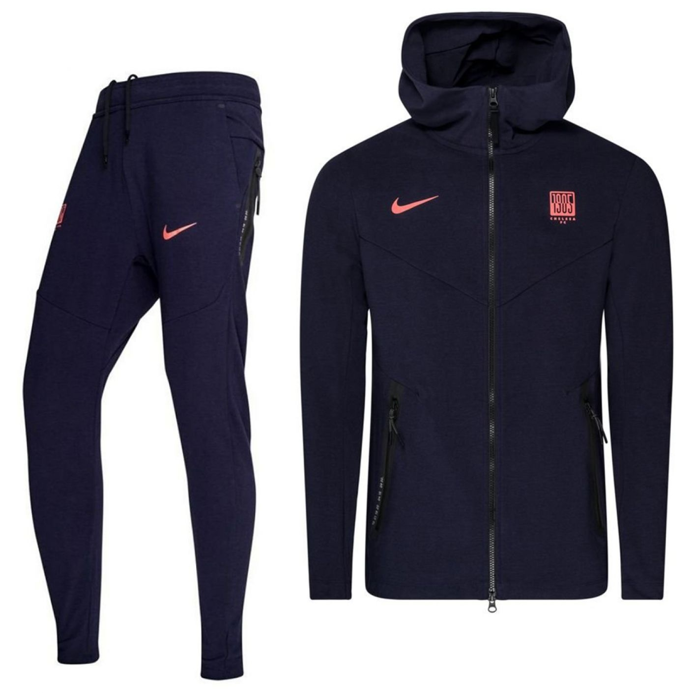 Nike Chelsea Tech Fleece Pack Trainingspak CL 2020-2021