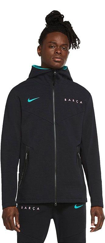 Nike FC Barcelona Tech Fleece Pack Trainingspak CL 2020-2021