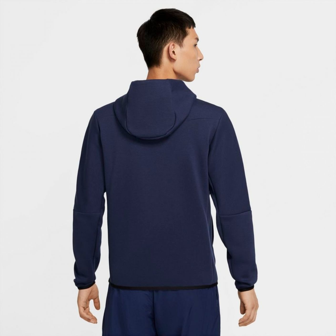 Nike Tech Fleece Windrunner donker blauw