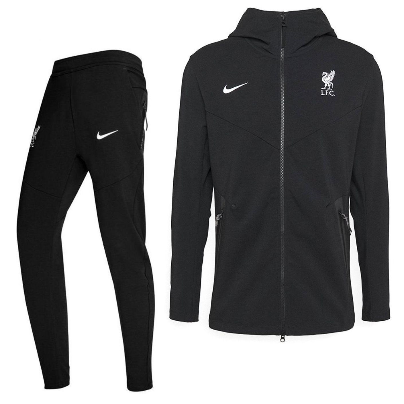 Nike Liverpool Tech Fleece Trainingspak 2020-2021 KIDS