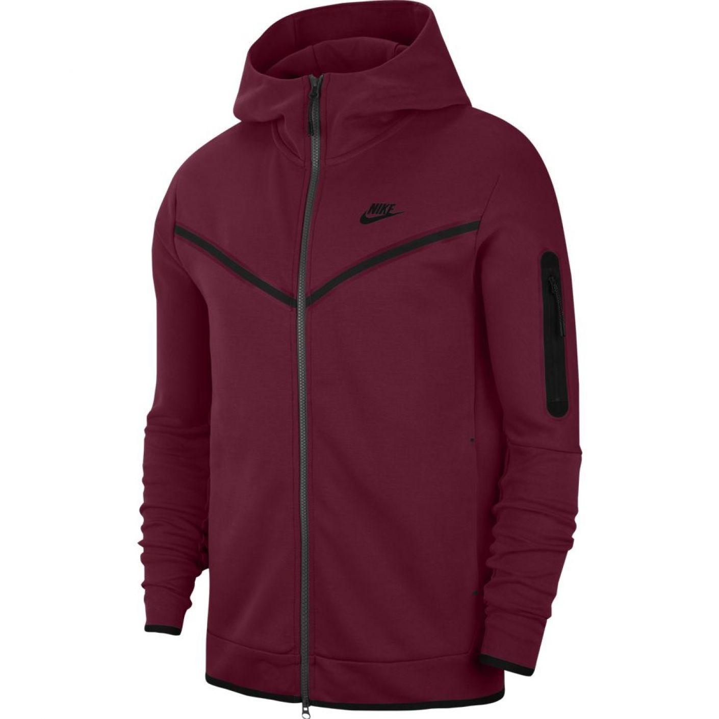 Nike Tech Fleece Windrunner Bordeaux Rood