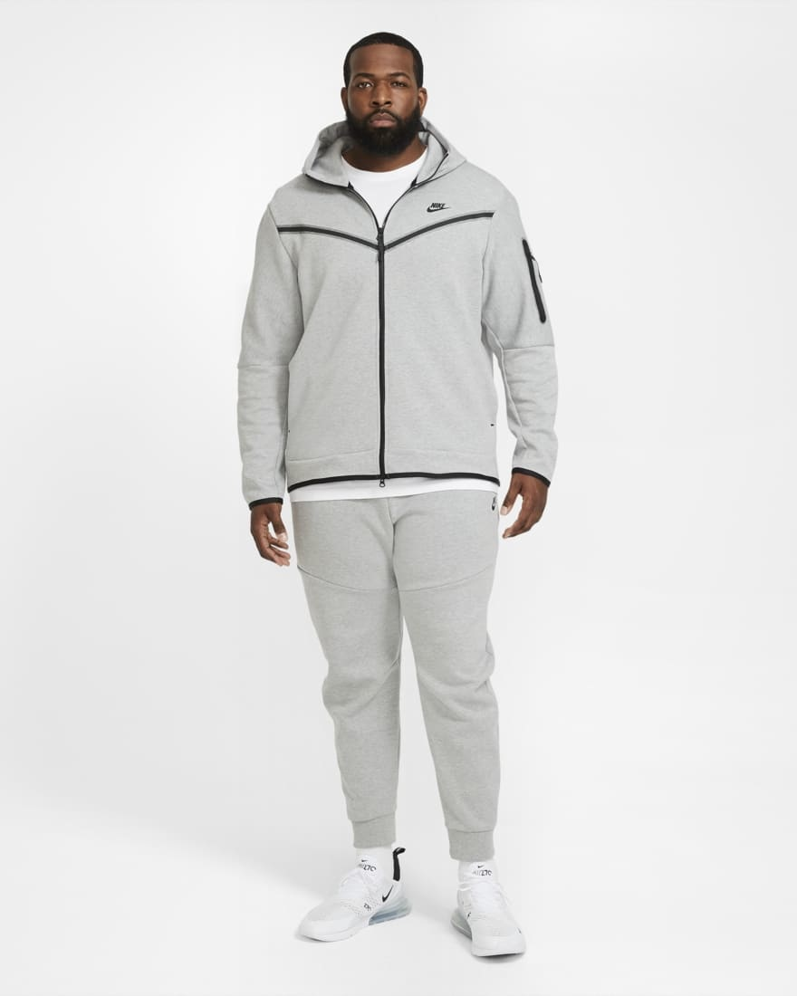 Nike Tech Fleece Windrunner Grijs