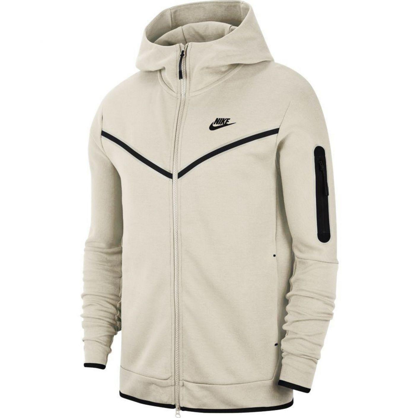 Nike Tech Fleece Windrunner Licht Grijs