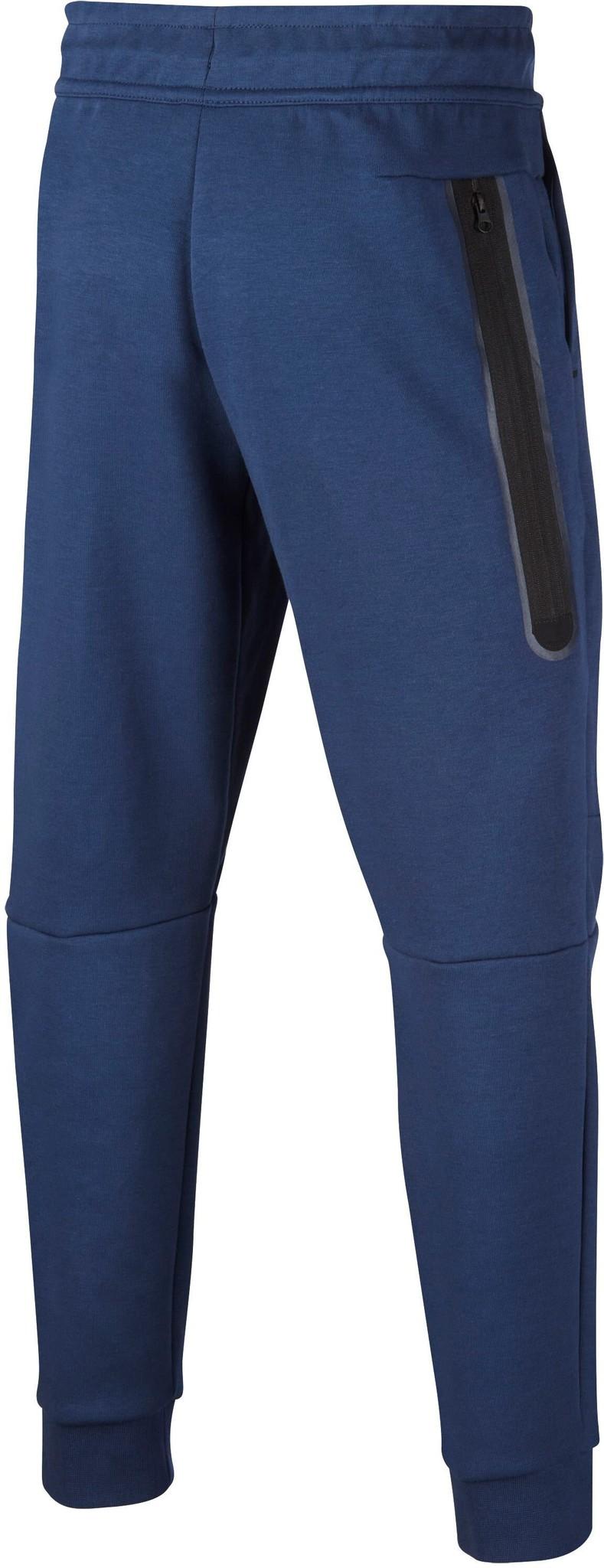 Nike Tech Fleece Jogger Donker Blauw Kids