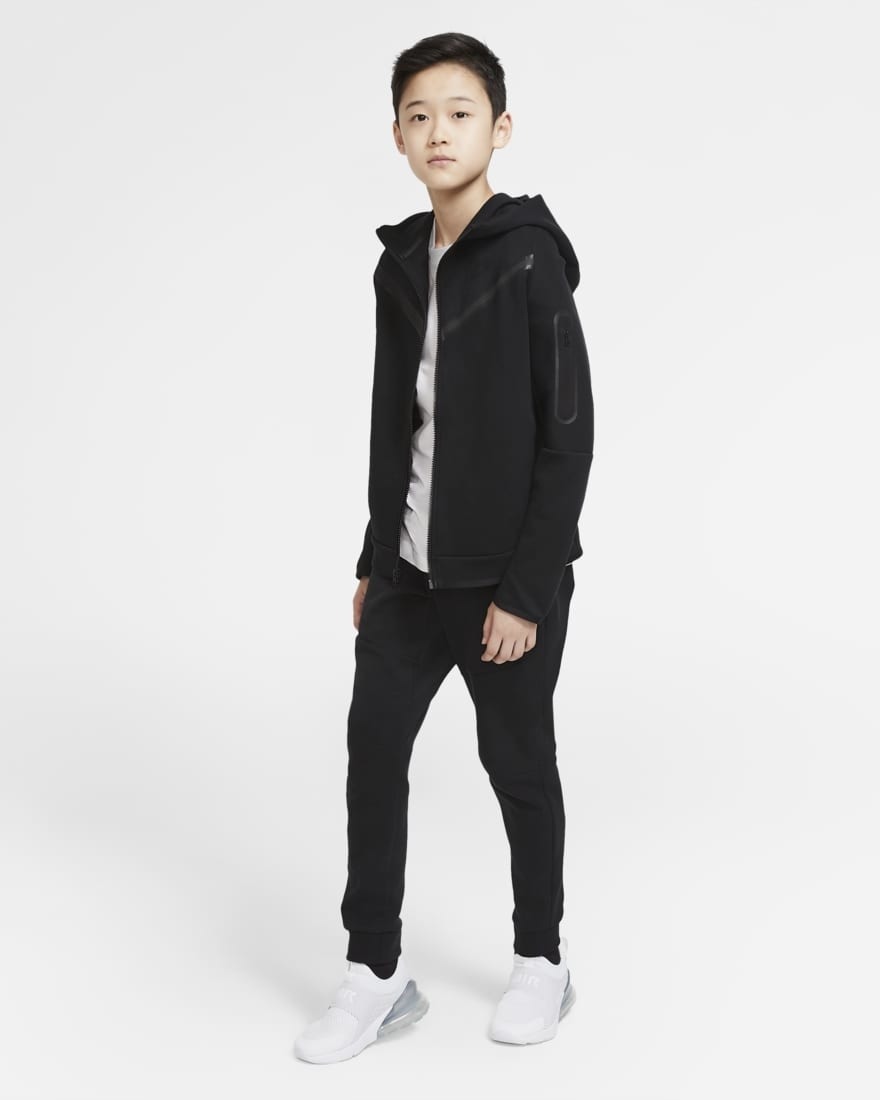 Nike Tech Fleece Jogger Zwart Kids