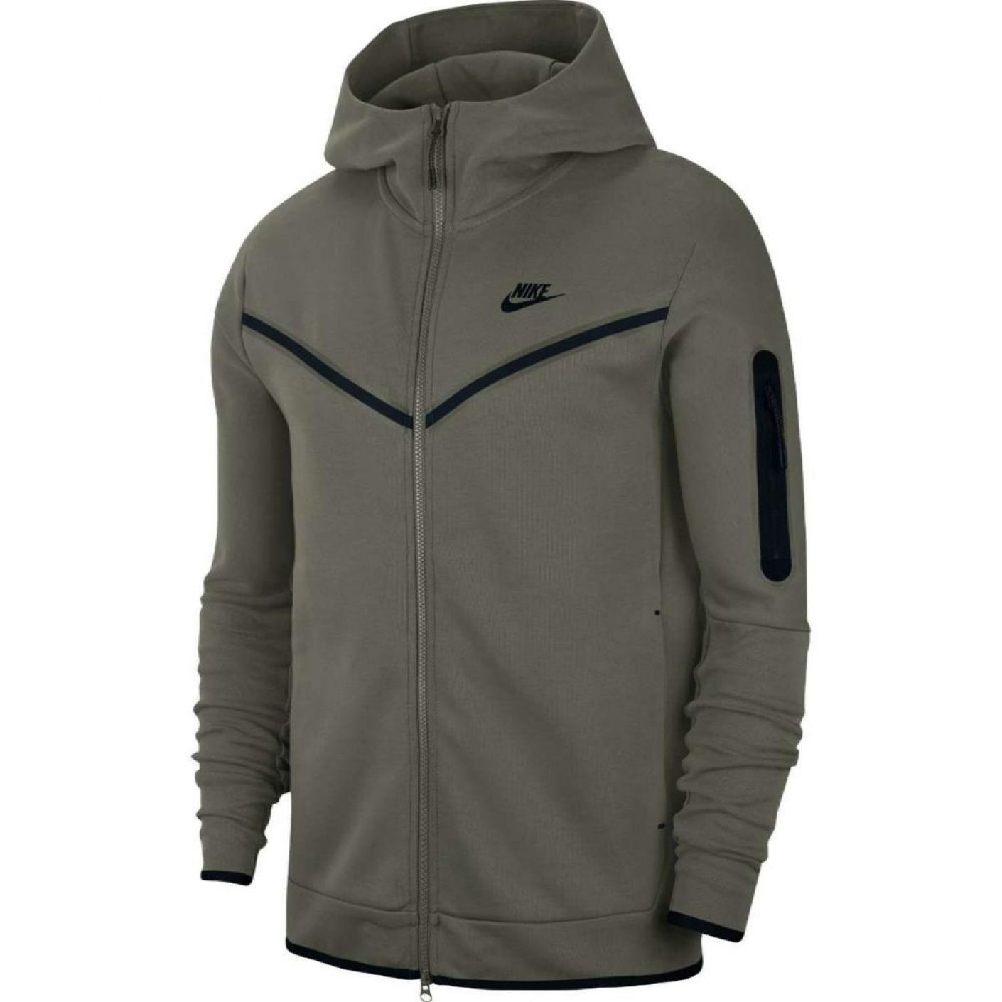 Nike Tech Fleece Windrunner donker groen Kids