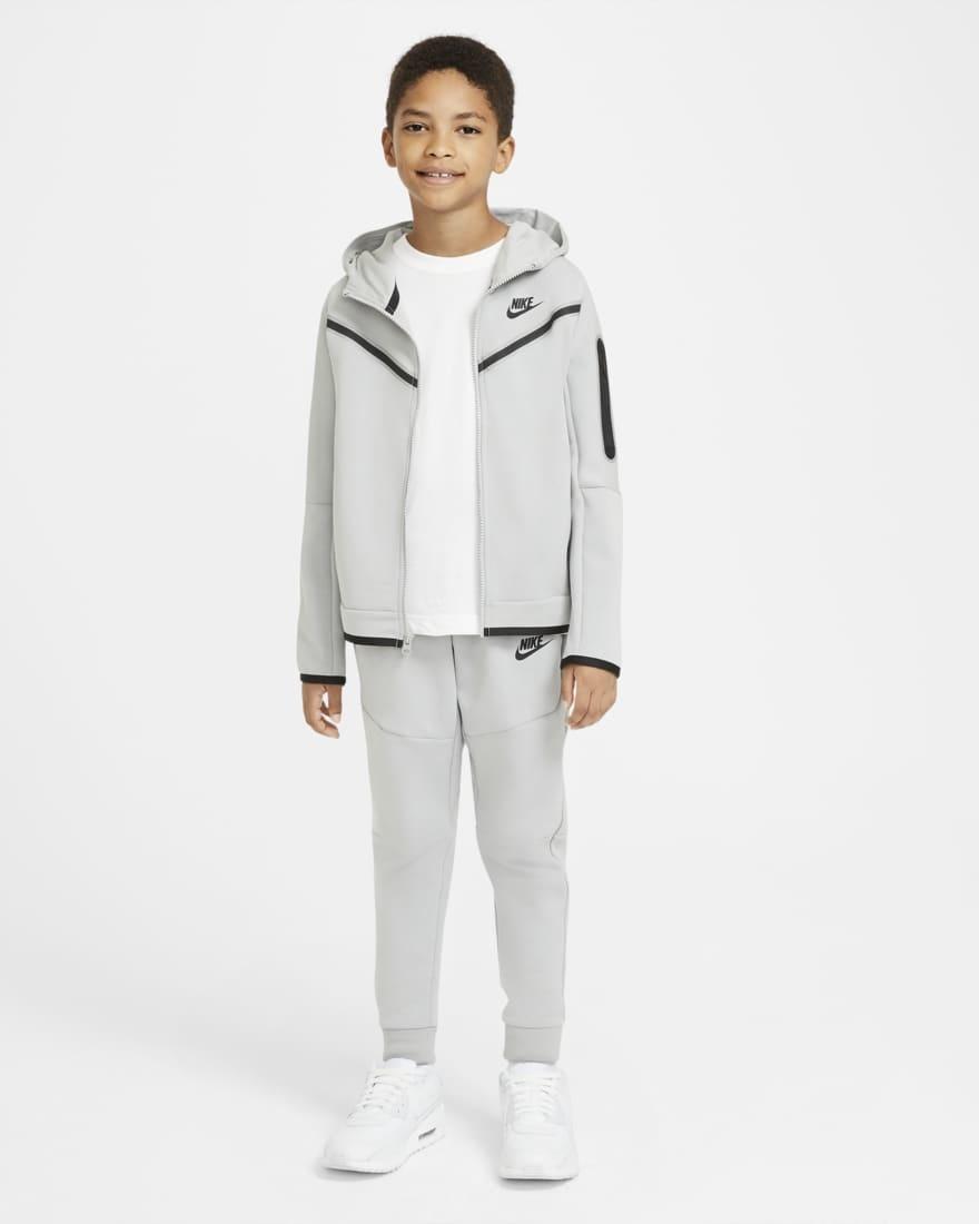 Nike Tech Fleece Jogger Grijs Kids