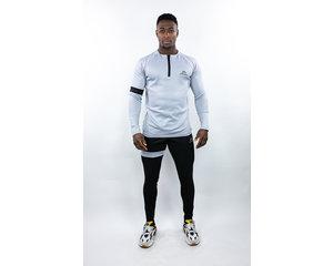 Donza Donza Polyester Suit  grijs/zwart