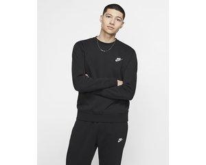 Nike Nike Sportswear Club Fleece Sweater Zwart
