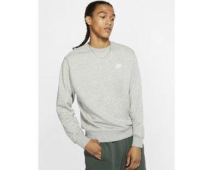 Nike Nike Sportswear Club Fleece Sweater Grijs