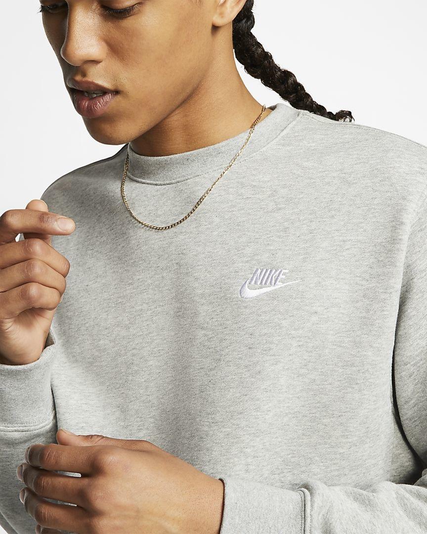 Nike Sportswear Club Fleece Sweater, Top Met Ronde Hals