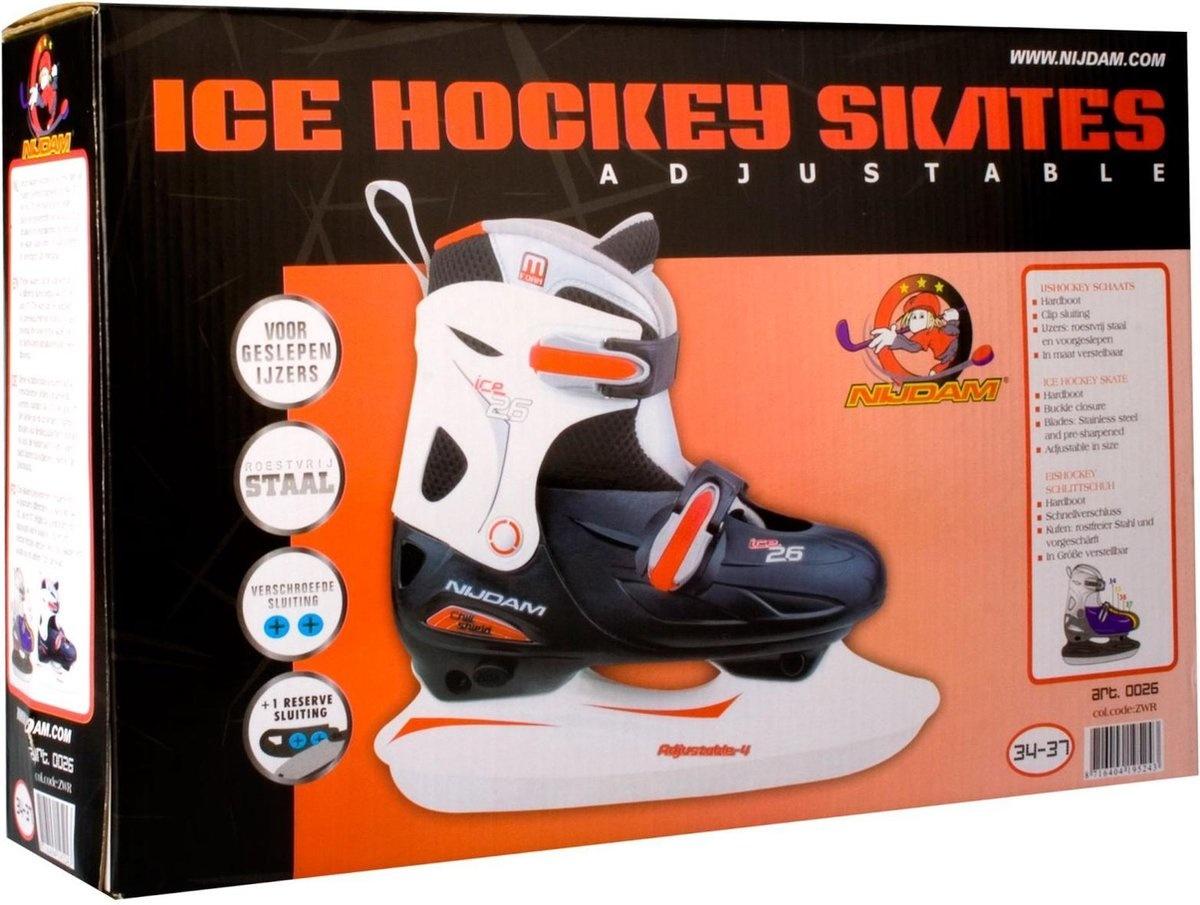 Nijdam Ijshockeyschaats Verstelbaar KIDS