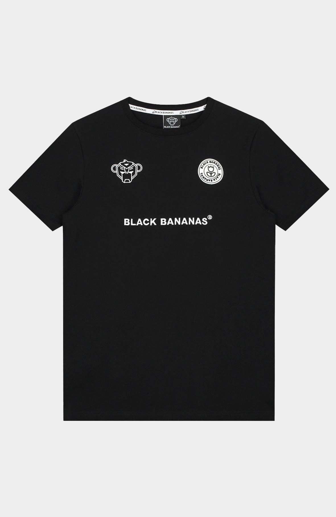 Black Bananas  F.C. T-shirt BLACK