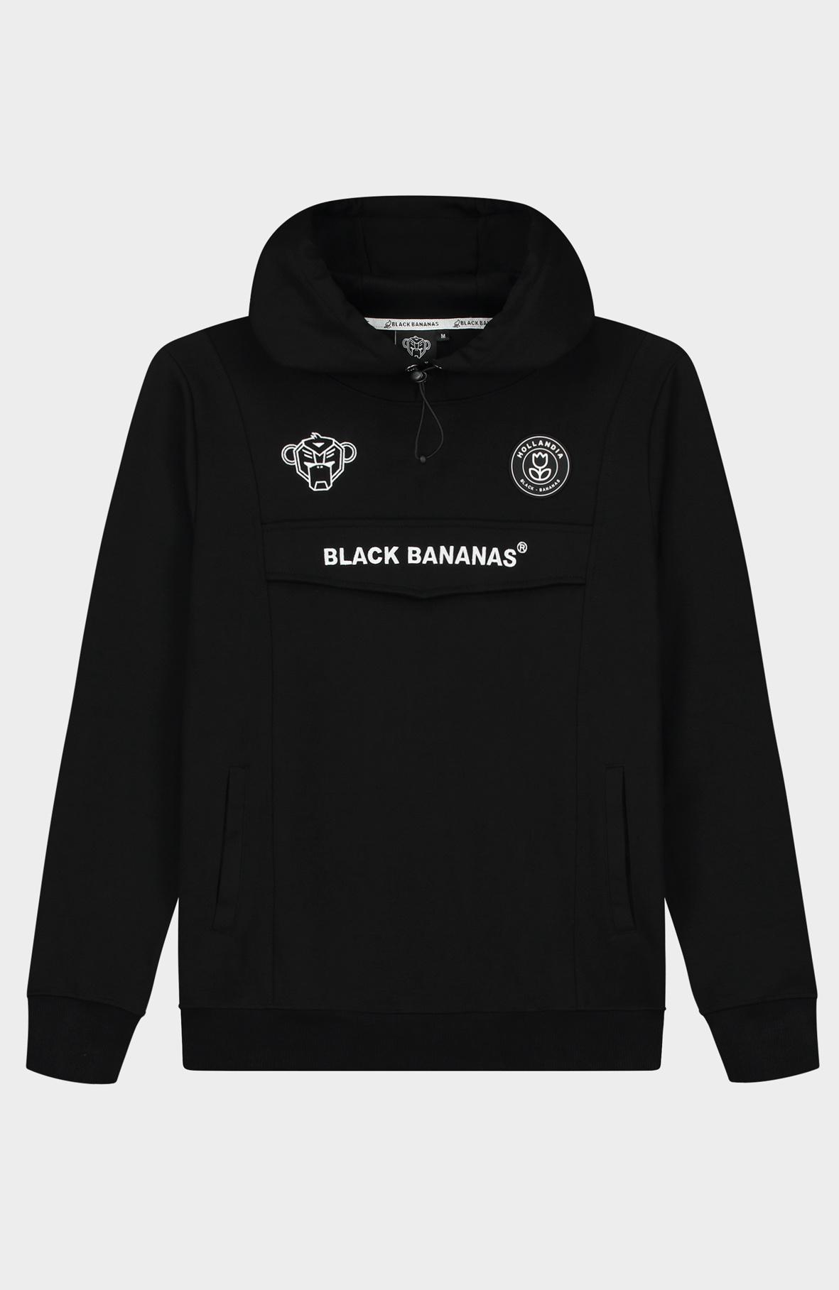 Black Bananas Black Bananas Anorak Tracksuit Serior Black