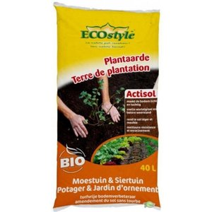ECOstyle Plantaarde Cocopeat Actisol 40L -20KG
