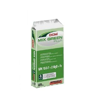 DCM Mix-Green plus 10-3-7+2MgO 25 kg