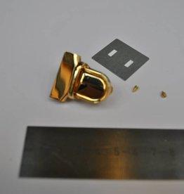 22931 R TUC 10 Boekentasslot goud