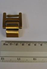 100023 OV  Draagriembevestiging brons 20mm