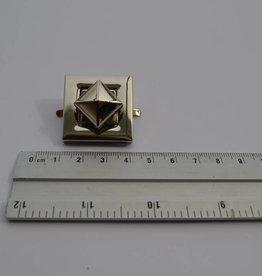 MOR 0068 NK F36 Vierkante draaisluiting zilver
