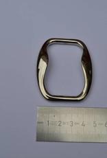 ANZ 1303/55 NKTL Rechthoekige ring 55mm zilver