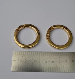 R69 Ronde ring 30mm goud