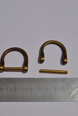 2137/25 OVS D-ring 25mm brons