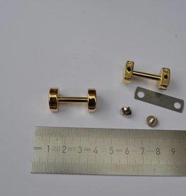 A100 Draagriembevestiging 20mm goud