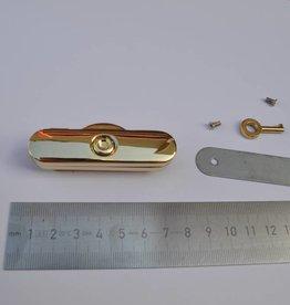 8910 R F42 Sluiting goud beugeltas