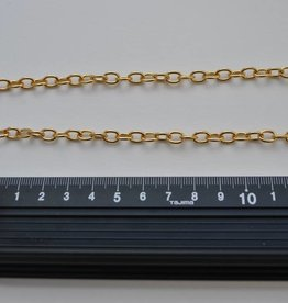 CAT0198 ORO CH22  Ketting fijn goud