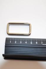 Ring rechthoekig 40mm Zilver
