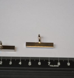 K4 Kettingbevestiging zilver 30mm