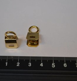 A122 Draagriembevestiging 6mm goud