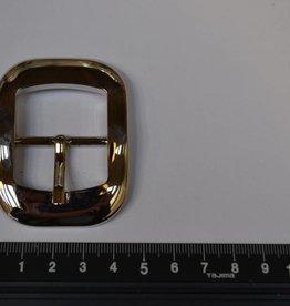BU75  Gesp met passant 30mm zilver