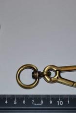 Musketonhaak 20mm brons