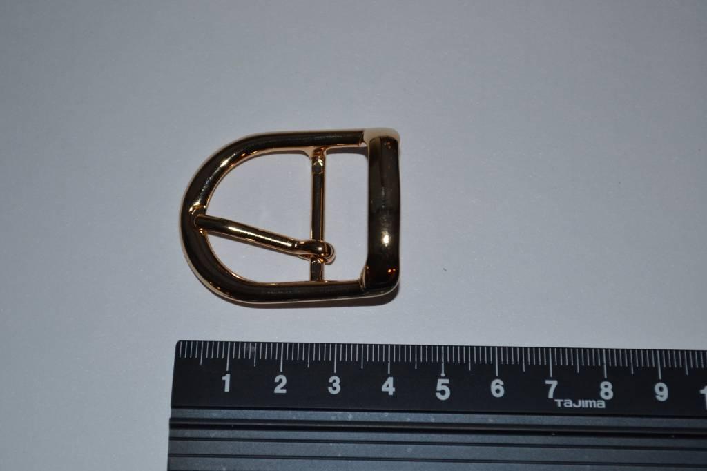 Gesp goud 25mm