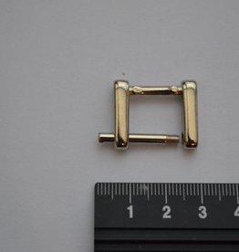 R65 Rechthoekige ring 15mm zilver