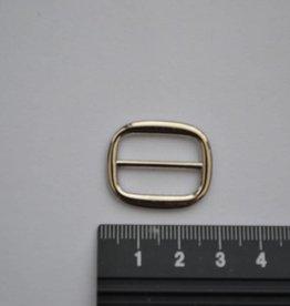 S13 Schuifgesp zilver 20mm