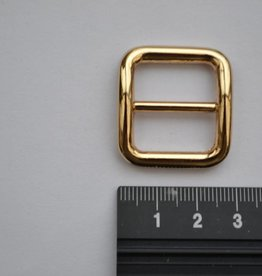 S18 Schuifgesp 20mm goud