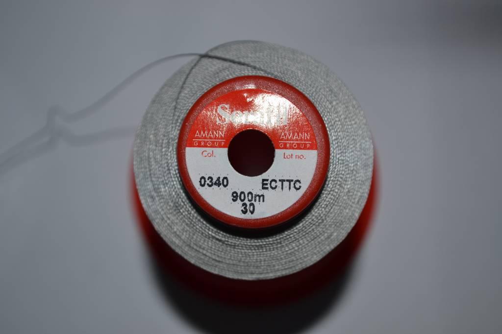 SER30/0340 garen zilvergrijs