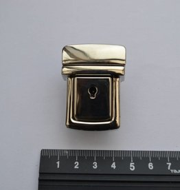 TUC16 Boekentasslot zilver