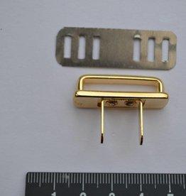 A32 Draagriembevestiging brug goud 25mm