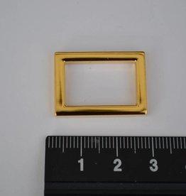 R28  Ring rechthoekig goud 20mm