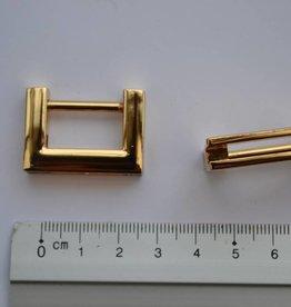 A102 Draagriembevestiging goud 20mm