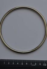 Ring 10mm zilver