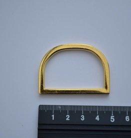 R102 D-ring 40mm goud