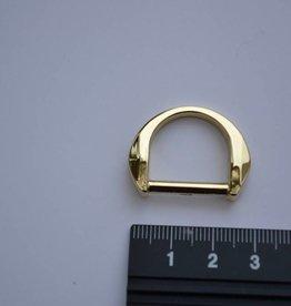 R103 D-ring 20mm goud