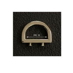 Draagriembevestiging  ring 20mm goud (per 2)